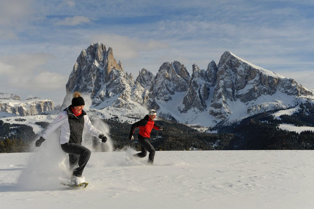 Romantic winter holiday in South Tyrol